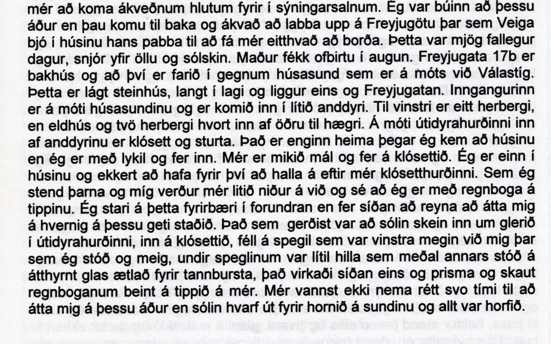 SÖGUR OG LJÓÐ / STORIES AND POEMS